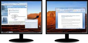 Taskleiste zwei Monitore